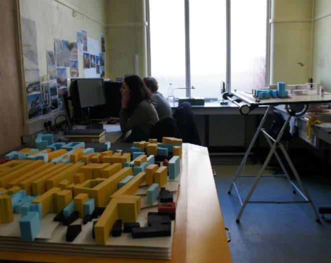 Tolulope Onabolu's studio. Image courtesy of the architect