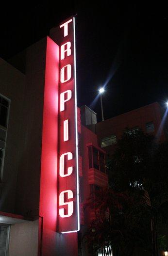 The Tropics Hotel, Miami Beach. Architect: Roy F France, 1939 © Jenny Steele, 2017