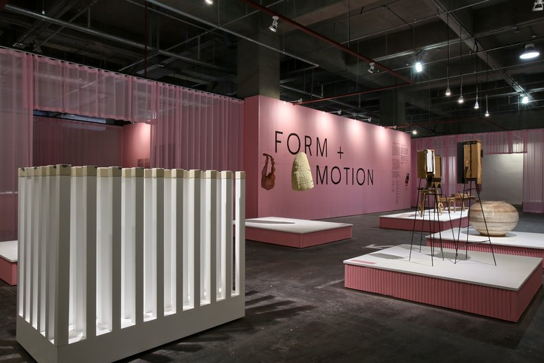 Form + Motion pavilion at Cheongju Craft Biennale 2017