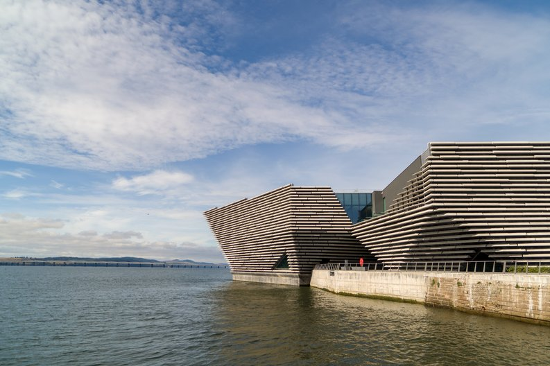 V&A Dundee August 2018  © Rapid Visual Media