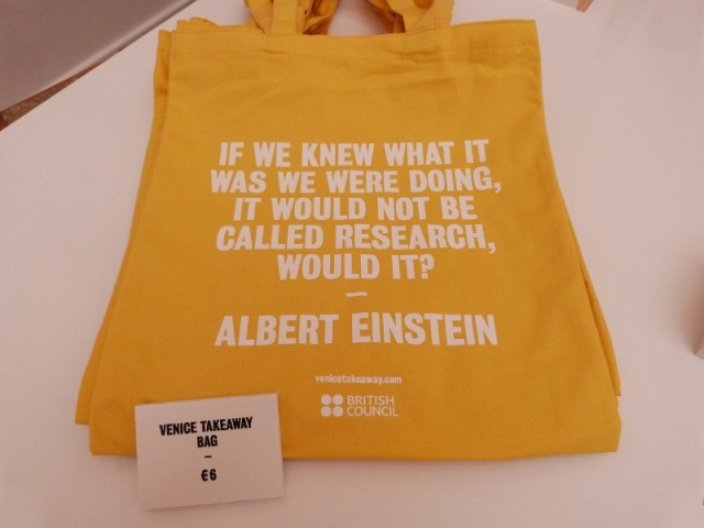 Venice Takeaway Einstein bag