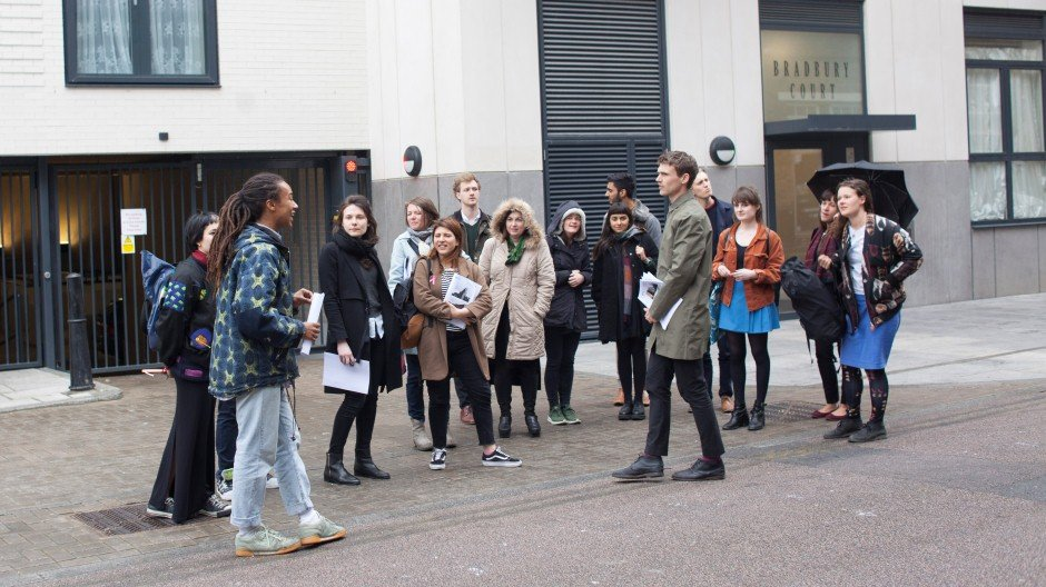 ARCHITECTURAL TOUR, VENICE FELLOWSHIPS 2016 INDUCTION DAY  © MILES MUNRO WILLIAMS