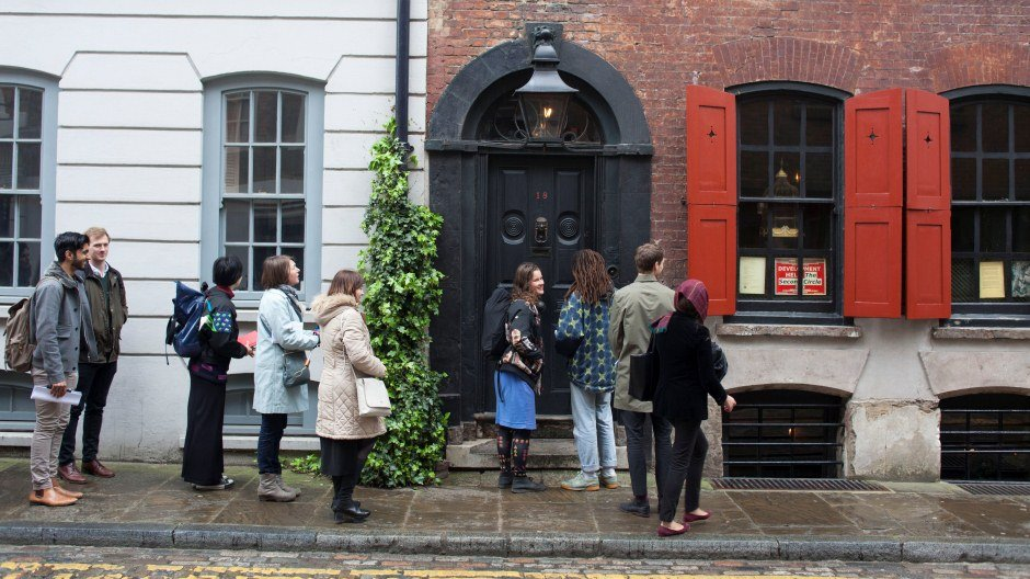 FELLOWS VISIT DENIS SEVERS' HOUSE,  VENICE FELLOWSHIPS 2016 INDUCTION DAY  © MILES MUNRO WILLIAMS