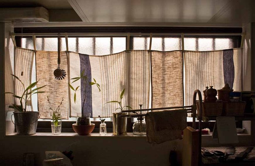 The Kitchen Of A Small Apartment In The Centre Of Osaka, Japan. Photo Susan