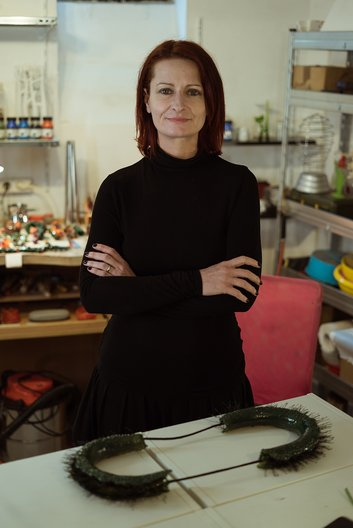 Cleopatra Cosulet - jewellery designer and maker from Romania British Council