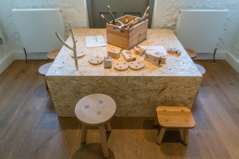 Wooden Parlour Puzzle, Anna Bera & Cat Dimond ©  Ditchling Museum