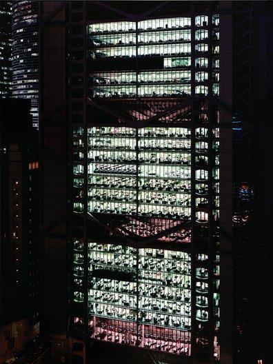 Hong Kong and Shanghai Bank, Hong Kong, China, 1994 - Andreas Gursky © M+