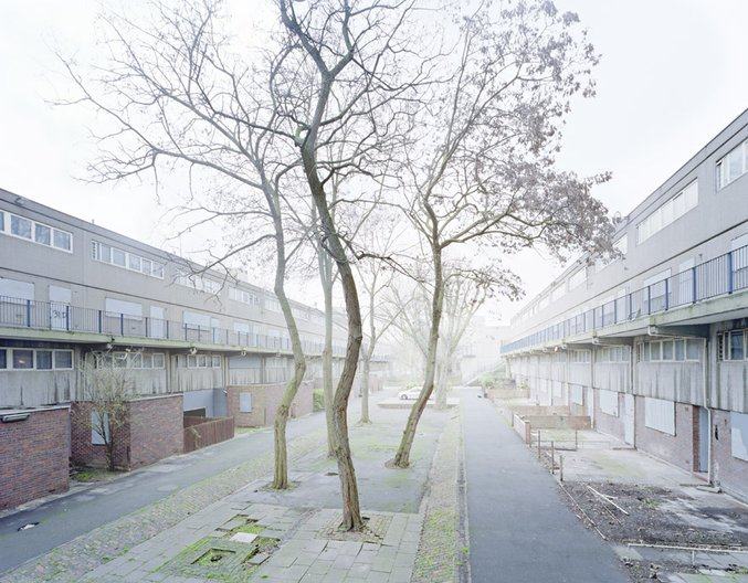 """Winner of Architecture & Place: Simon Kennedy with """"Heygate Estate"""""""