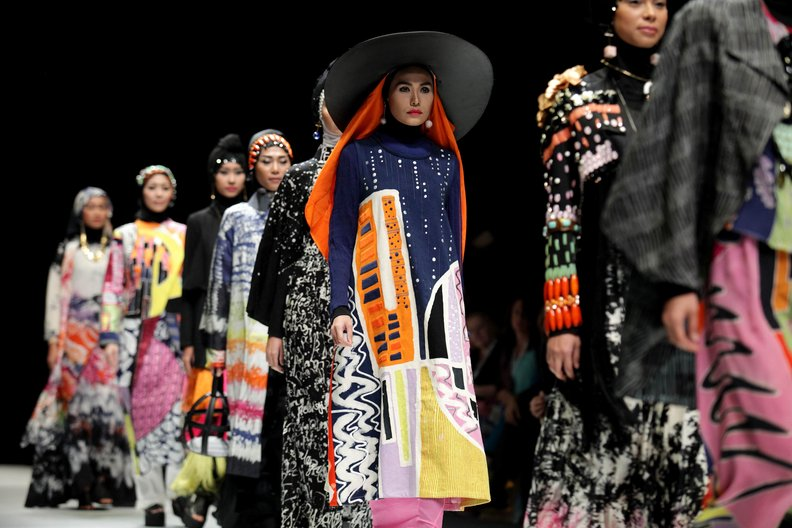 Runway at Jakarta Fashion Week © Jakarta Fashion Week