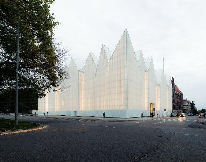 Philharmonic Hall, Szczecin, by Barozzi Veiga