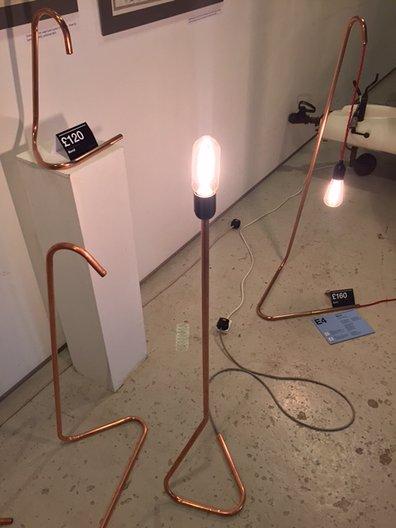 Bend lamp  Gunnar Groves-Raines