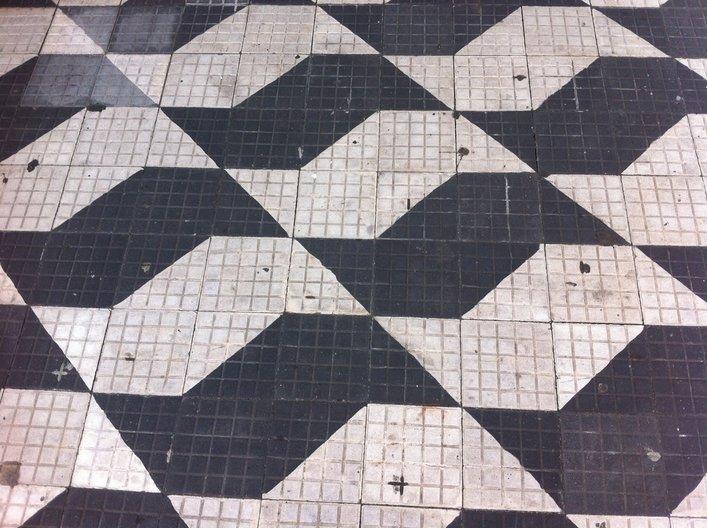 São Paulo paving