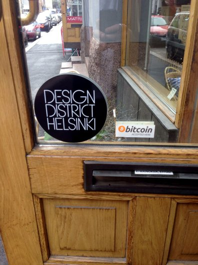 The Design District is Helsinki's design hub, full of boutique stores and stunning works. Very occasionally you find an odd juxtaposition Tobias Revell