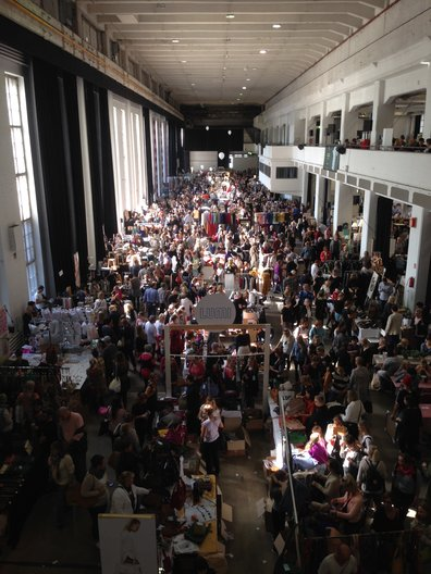 The incredible Helsinki Design Market during Helsinki Design Week, hundreds of small design companies and thousands of visitors Tobias Revell