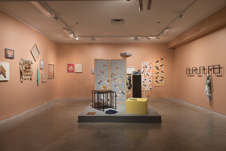 Installation view of Erica van Zon's 'Coffee Perhaps', 2016 John Lake