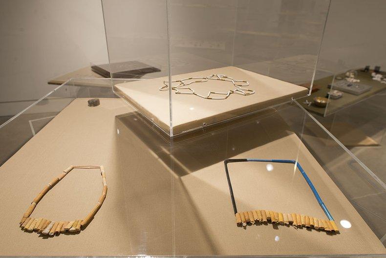 Installation view, 'Wunderrūma: New New Zealand Jewellery' John Lake