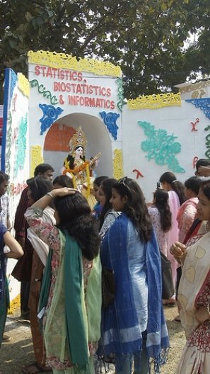 Hindu Festival to the Goddess of Knowledge