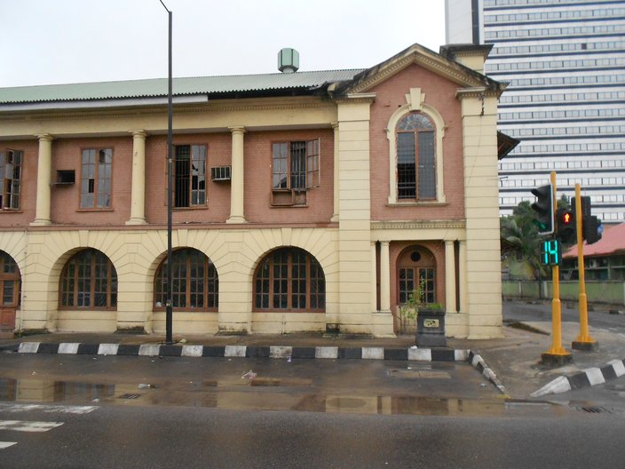 The old Government Printing Press in Old Lagos, which could be turned into a cultural centre photo by Vicky Richardson
