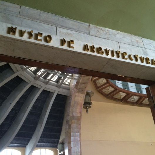 Museo de Arquitectura photo: João Guarantani