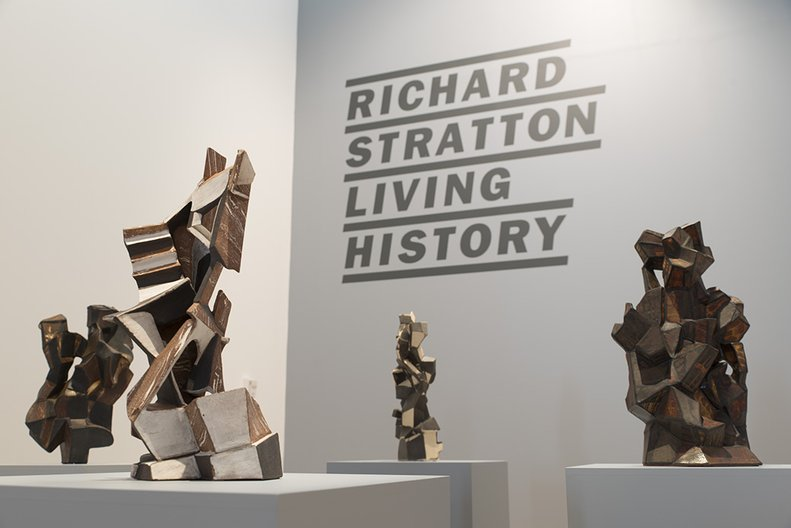 Installation view, 'Richard Stratton: Living History' John Lake