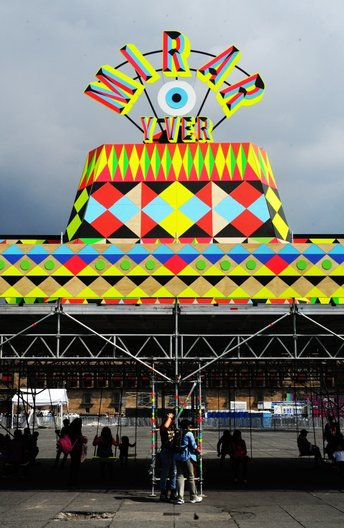Morag Myerscough and Luke Morgan