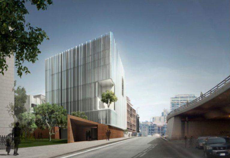 Saifi Arts Centre. Image courtesy of Nabil Gholam Architects