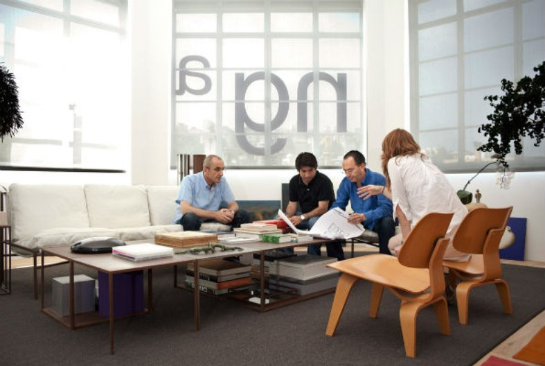 Nabil Gholam Architects in the office. Photograph by Marco Piranelli