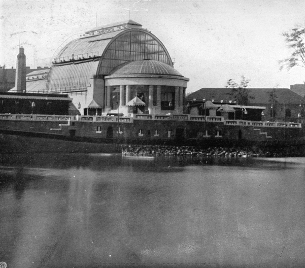 Palm House, 1912: Courtesy of archives at Budapest Zoo