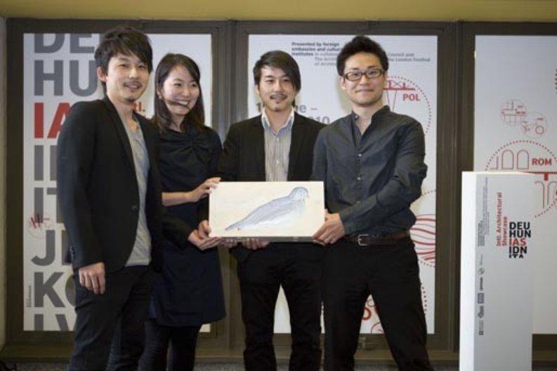 Inaugural Silver Pigeon Award winners Japan 2010.