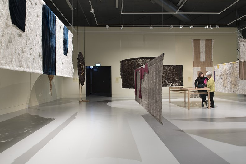 Installation view, 'Emma Fitts: From Pressure to Vibration—The Event of a Thread' John Lake