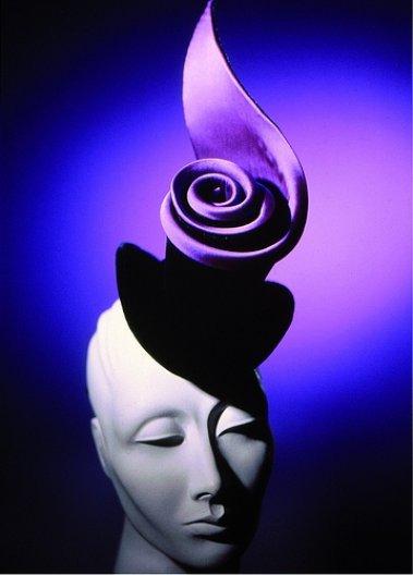 Rose Royce Top Hat, 1996, designed by Stephen Jones