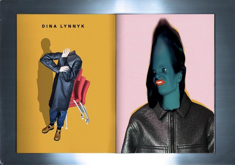 Dina Lynnk for Fanzine Kyiv Foxall Studio