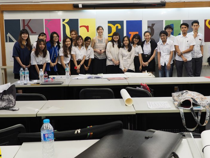 Workshop at Chulalongkorn