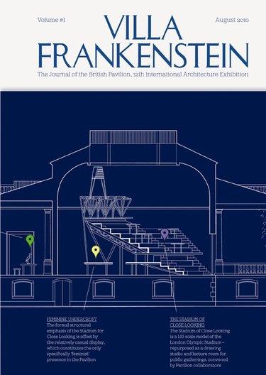 Villa Frankenstein Volume #1. Graphics by objectif